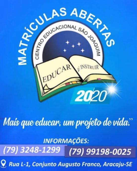 centro educacional joaquim