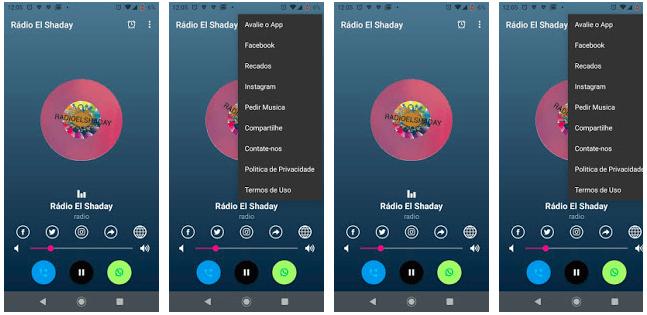 Aplicativo de Rádio Web