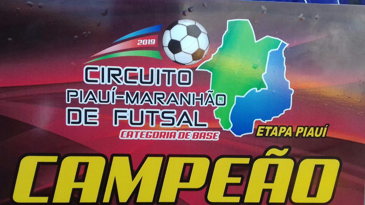 Skyna Futsal vence Ametista e vai a final geral do circuito Piauí/Maranhão de futsal sub 20