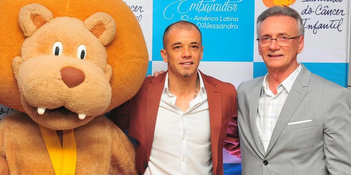 D'Alessandro é nomeado embaixador do Instituto do Câncer Infantil