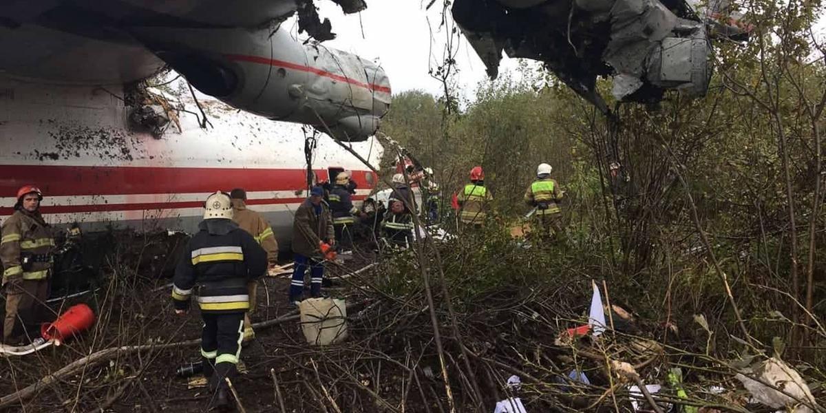 Pouso de emergência deixa três mortos na Ucrânia