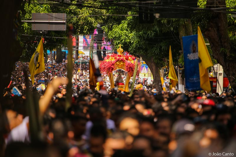 CÍRIO DE NAZARÉ 2019: Emoção e muita fé de milhares de fieis pelas ruas de Belém