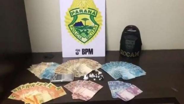 Pato Branco: Homem é preso por tráfico de drogas em estabelecimento comercial